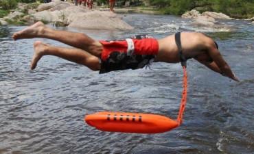 Un guardavidas rescató a un bebé en un río de Córdoba