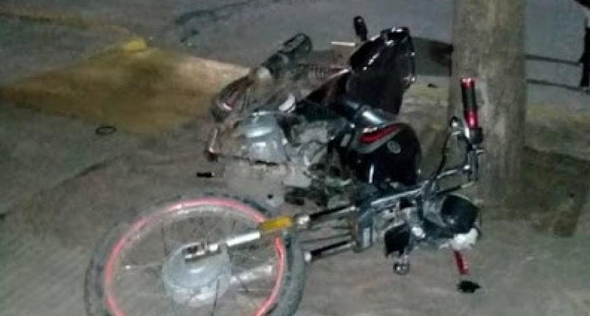 Laborde: Chocaron dos Motocicletas - Un joven tuvo que ser derivado a Bell Ville